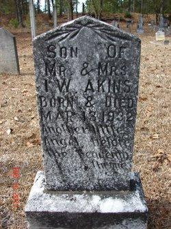 Infant Son of I. W. Akins
