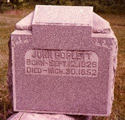 John Poplett