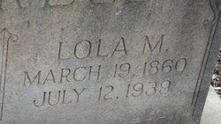 Lola M. <i>Jones</i> Ferrell