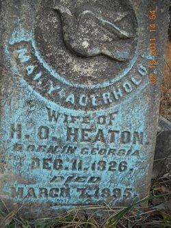 Mary <i>Aderhold</i> Heaton