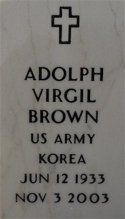 Adolph Virgil Brown