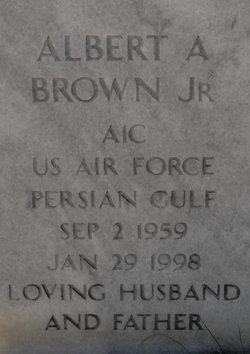 Albert A Brown, Jr