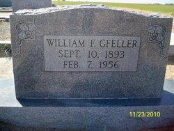 William F Gfeller