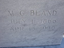 M. G. Bland