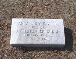 Anna Lucy <i>DeVore</i> McNair