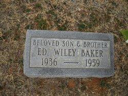 Ed Wiley Baker