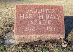 Mary M <i>Daly</i> Abadie