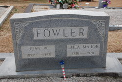 Lula <i>Major</i> Fowler