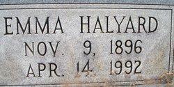 Emma Halyard