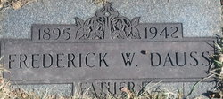 Frederick William Fred Dauss