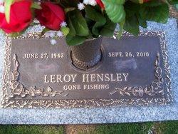 Leroy Hensley