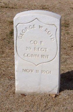 Pvt George W. Boyd