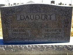 Willie Robert Daudert
