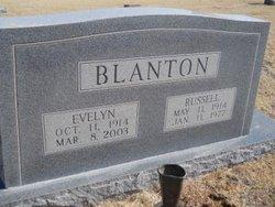 Evelyn L. <i>Bagwell</i> Blanton