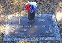 Barbara L Davidson