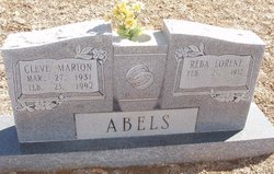 Cleve Marion Abels