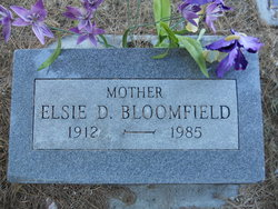 Elsie Mabel <i>Dallas</i> Bloomfield
