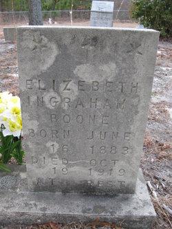 Elizabeth <i>Ingraham</i> Boone