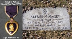 Pvt Alfred G Casey