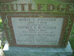 Infant Son Rutledge