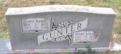 Cora Marie Gunter