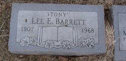 Lee E Tony Barrett