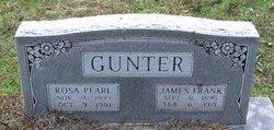 James Franklin FRANK Gunter
