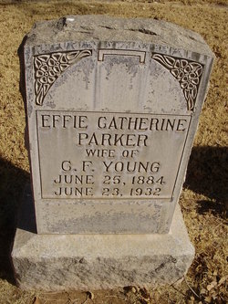 Effie Catherine <i>Parker</i> Young