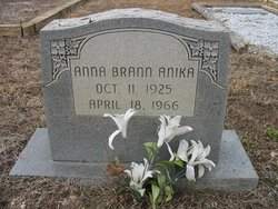 Ann <i>Brann</i> Anika