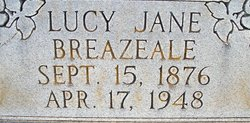 Lucy Jane <i>Callier</i> Breazeale