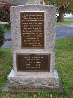 Napa State Hospital Cemetery