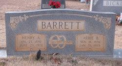 Arrie L <i>Bickley</i> Barrett