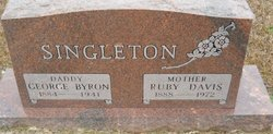 Ruby <i>Davis</i> Singleton