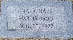 Ina Ruth <i>Coleman</i> Babb