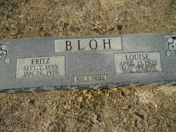 Louise <i>Schmidt</i> Bloh
