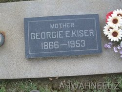 Georgie Ellen <i>Moon</i> Kiser