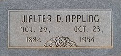 Walter Dillard Appling