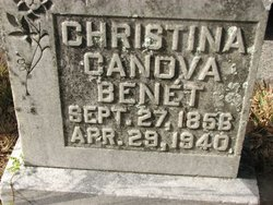 Christina <i>Canova</i> Benet