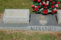 Edwin M Alexander