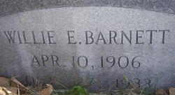 Willie Irvin Barnett