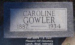 Caroline Matilda <i>Ericksen</i> Gowler