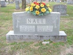 Rebekah Ann <i>Wilson</i> Nall
