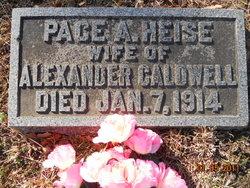 Pace A <i>Heise</i> Caldwell