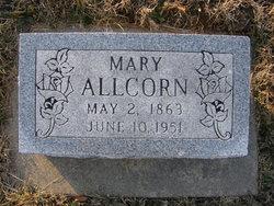 Mary J <i>Huffman</i> Allcorn