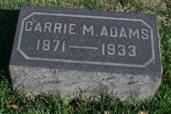 Carrie M. Adams