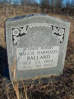 Maggie <i>Harrison</i> Ballard