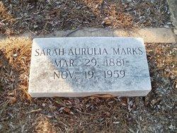 Sarah Aurulia <i>Tuggle</i> Marks