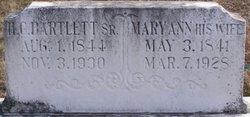 Mary Ann <i>Mattingly</i> Bartlett