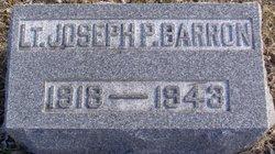 Lieut Joseph P. Barron
