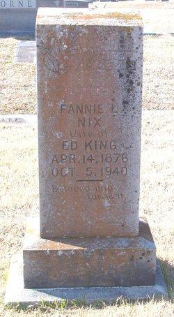 Fannie L. <i>Nix</i> King